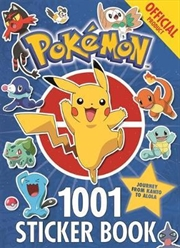 The Official Pokemon 1001 Sticker Book | Paperback Book