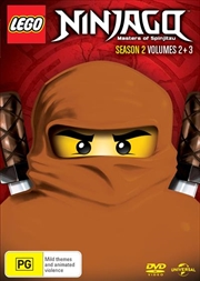 LEGO Ninjago - Masters of Spinjitzu - Season 2 - Vol 2-3 | DVD