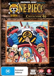 One Piece - Uncut - Collection 46 - Eps 553-563 | DVD