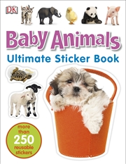 Baby Animals: Ultimate Sticker Book | Paperback Book