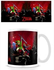 The Legend Of Zelda - Battle - Heat Colour Changing Mug