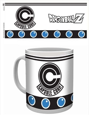 Dragon Ball Z - Capsule Corp Logo White