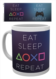 Playstation - Eat Sleep Repeat | Merchandise