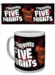 Five Nights At Freddy's - I survived | Merchandise