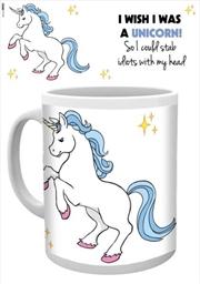 Unicorn - I Wish I Was (Cute)   Merchandise