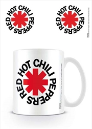 Red Hot Chili Peppers - Logo White | Merchandise