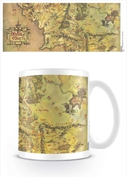 The Lord of the Rings - Middle Earth Map | Merchandise
