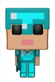 Minecraft - Alex in Diamond Armor