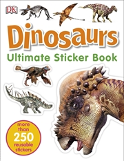 Ultimate Sticker Book Dinosaurs | Paperback Book