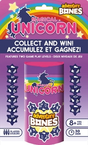 Magical Unicorn Adventure Bones Game | Merchandise