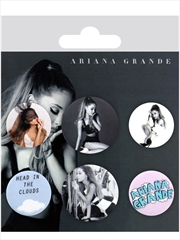 Ariane Grande Mix Badge 6 Pack