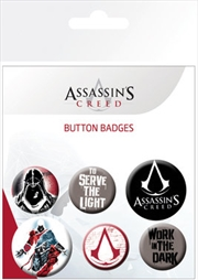 Assassins Creed Badge 6 Pack