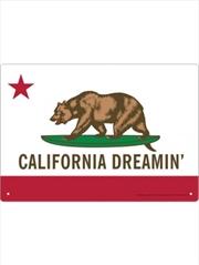 California Dreaming Tin Sign | Merchandise