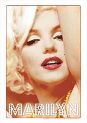 Marilyn Glamour Tin Sign