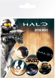 Halo 5 Badge 6 Pack