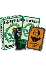 I Love Weed Playing Cards | Merchandise
