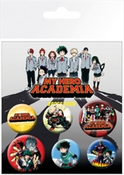My Hero Academia Mix Badge 6 Pack | Merchandise