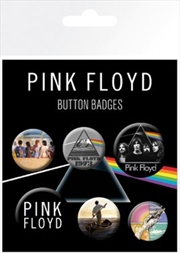 Pink Floyd Badge 6 Pack