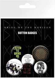 Bring Me the Horizon Sempiternal Badge 6 Pack
