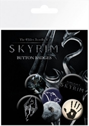 Skyrim Mix Badge 6 Pack