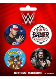 WWE Superstars Badge Pack
