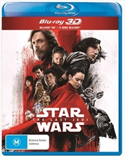 Star Wars - The Last Jedi | 3D + 2D Blu-ray