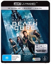 Maze Runner - The Death Cure | Blu-ray + UHD + Digital Copy
