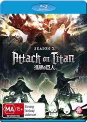 Attack On Titan - Season 2 | Blu-ray