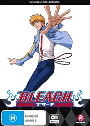 Bleach Shinigami - Collection 8 - Eps 317-366 | DVD