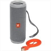Flip4 Portable Speaker: Grey