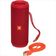 Flip4 Portable Speaker: Red