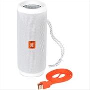 Flip4 Portable Speaker: White