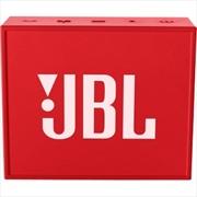 Go Portable Bt Speaker: Red