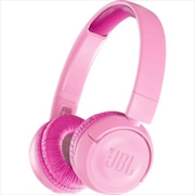 Jr300 Kids Bt Headphone: Pink