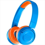 JR300 Kids Bt Headphone: Blue