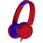 JR300 Kids Headphones: Red