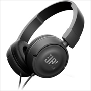Jbl T450 Headphones: Black