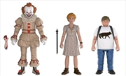 It (2017) - Pennywise, Beverly & Ben Action Figure 3-pack