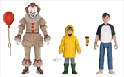 It (2017) - Pennywise, Georgie & Bill Action Figure 3-pack