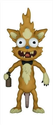 Rick and Morty - Squanchy Action Figure | Merchandise