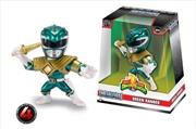 """Power Rangers - Green Ranger (Candy Green) 4"""" Metals"""