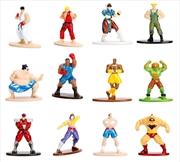 Street Fighter - Nano Metals Figs Assortment