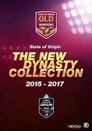 State Of Origin - 2015-17 - The New Queensland Dynasty Collection