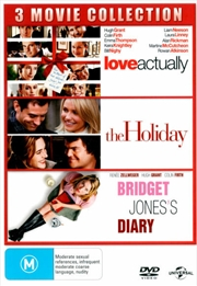Love Actually / The Holiday / Bridget Jones's Diary | DVD