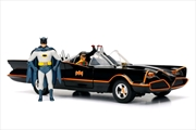 Batman (1966) - Batmobile 1:24 w/Batman & Robin | Merchandise