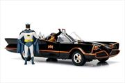 Batman (1966) - Batmobile 1:24 w/Batman & Robin