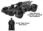 Justice League Movie - Batmobile with Batman Figure 1:24