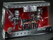 "Suicide Squad - Harley Quinn & Joker US Exclusive 4"" Bare Metal 2 Pack | Merchandise"