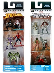 Marvel - Nano Metalfigs 5-Pack Assortment