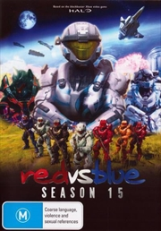 Red Vs Blue Season 15 | DVD